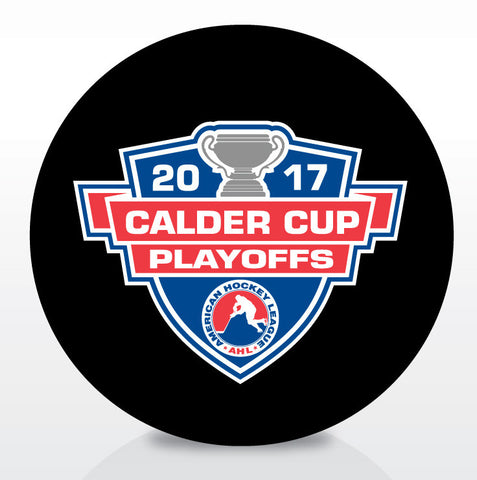 2017 Calder Cup Playoffs Official Souvenir Puck