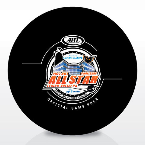 2017 AHL All-Star Classic Official Game Puck