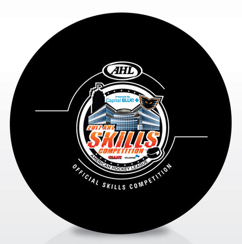 2017 AHL All-Star Skills Competition Game Puck