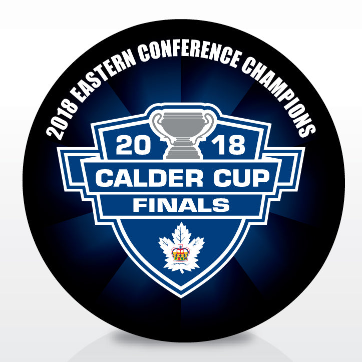Toronto Marlies 2018 Eastern Conference Champions Souvenir Puck