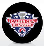 2018 Calder Cup Playoffs Official Souvenir Puck