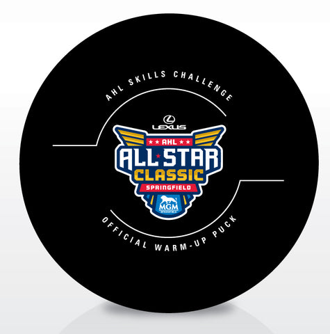 2019 AHL All-Star Skills Competition Game Puck