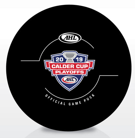 2019 Calder Cup Playoff Official Game Puck