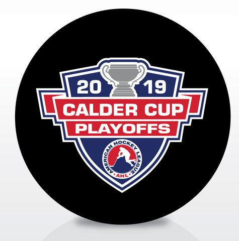 2019 Calder Cup Playoffs Official Souvenir Puck