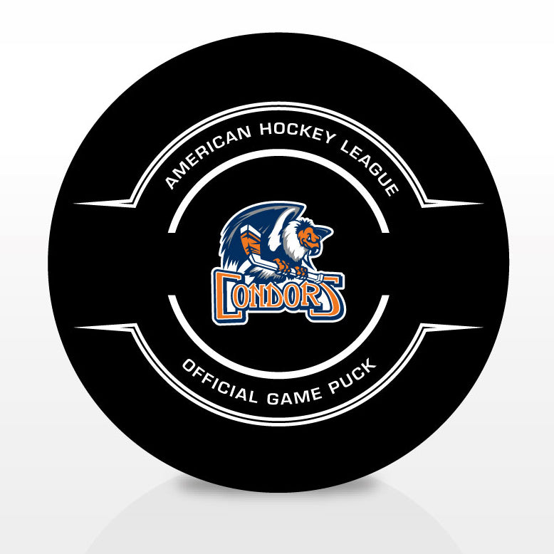 Bakersfield Condors Official Center Ice Game Puck