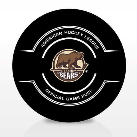 Hershey Bears Official Center Ice Game Puck