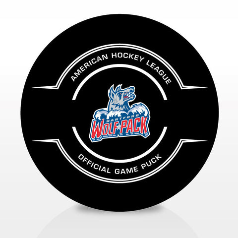 Hartford Wolf Pack Official Center Ice Game Puck