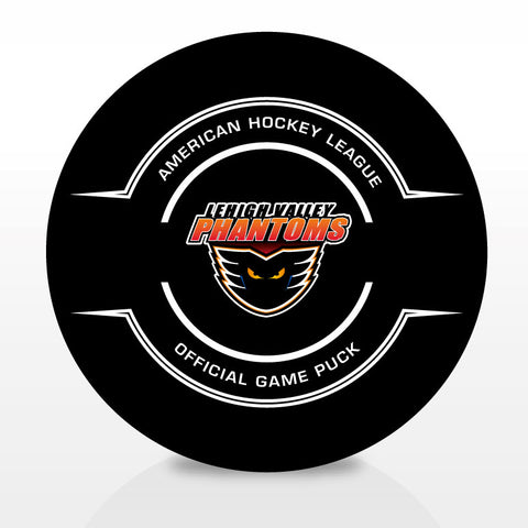 Lehigh Valley Phantoms Official Center Ice Game Puck