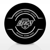 Ontario Reign Official Center Ice Game Puck