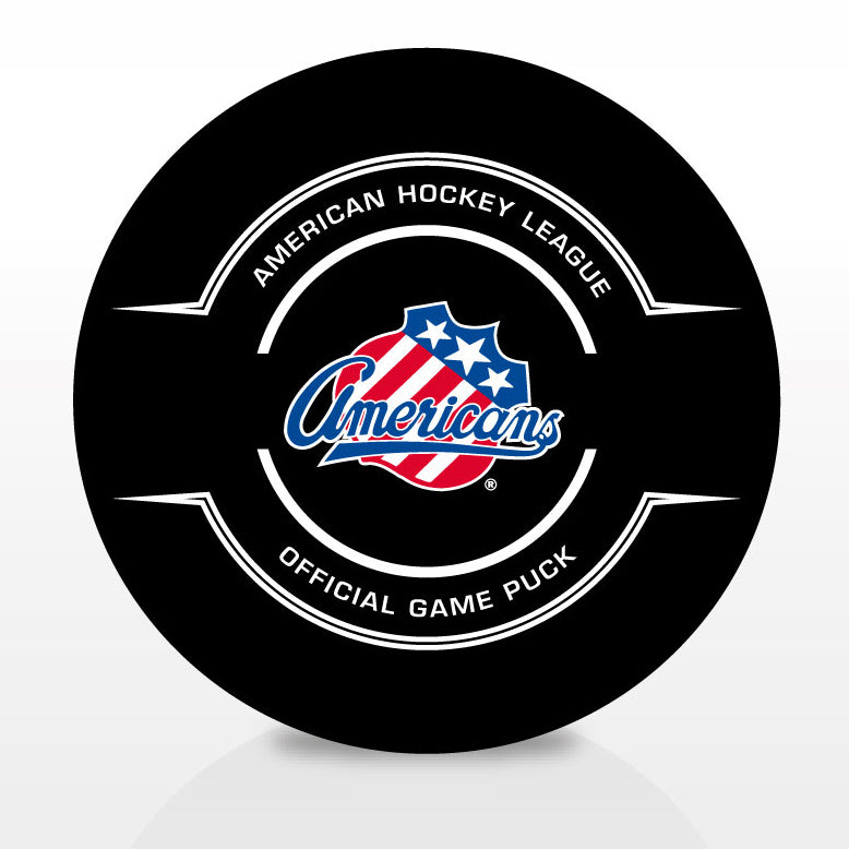 Rochester Americans Official Center Ice Game Puck
