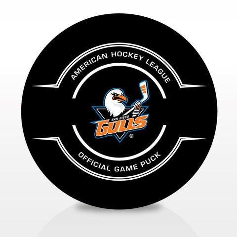 San Diego Gulls Official Center Ice Game Puck