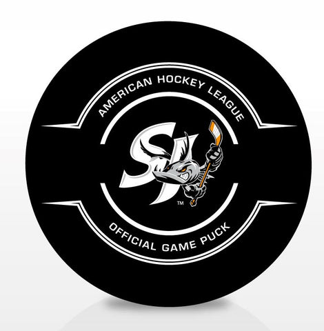 San Jose Barracuda Official Center Ice Game Puck