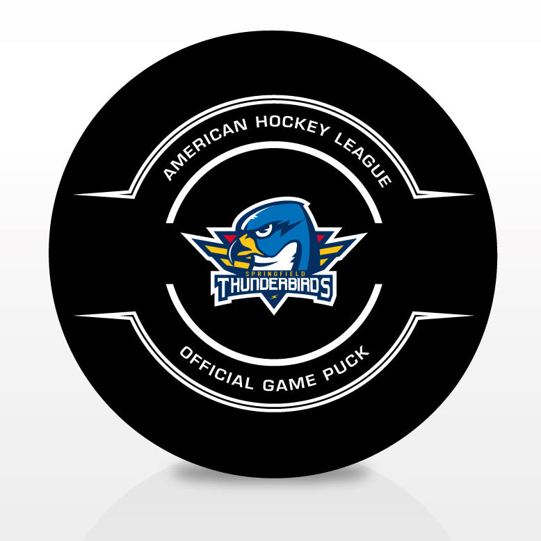 Springfield Thunderbirds Official Center Ice Game Puck