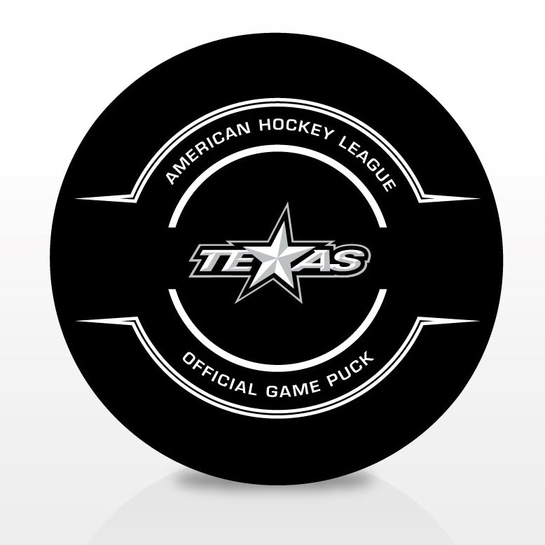 Texas Stars Official Center Ice Game Puck