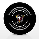 Wilkes-Barre/Scranton Penguins Official Center Ice Game Puck