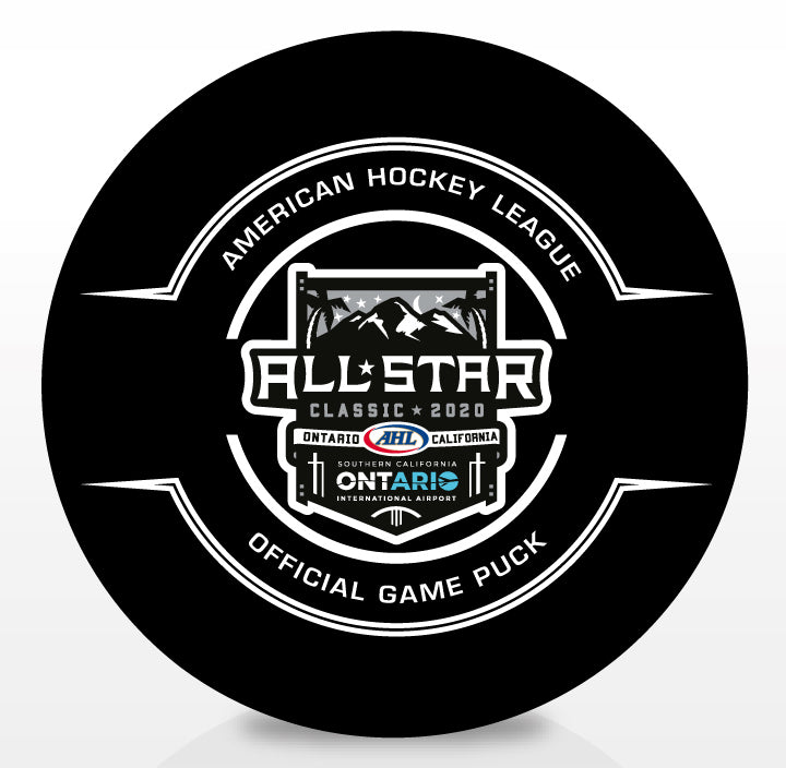 2020 AHL All-Star Classic Official Center Ice Game Puck