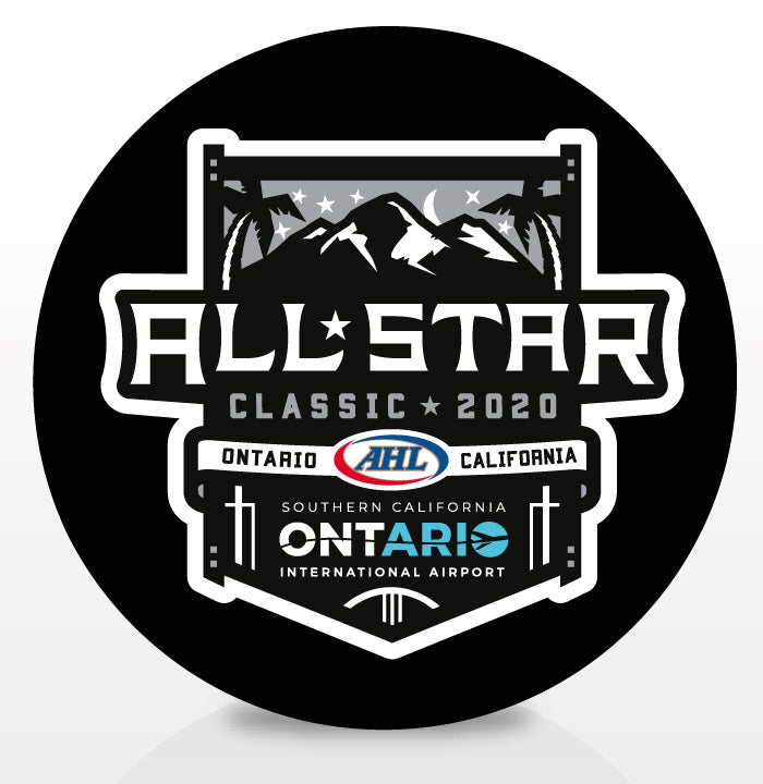 2020 AHL All-Star Classic Souvenir Puck
