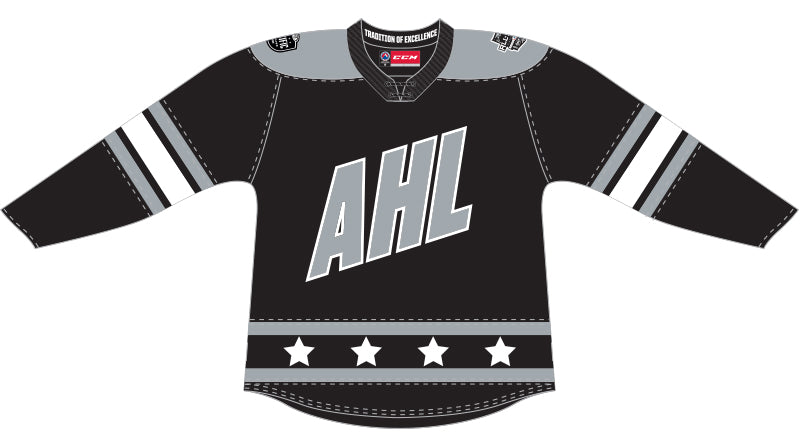 CCM Quicklite 2020 AHL All-Star Pacific Division Premier Black Jersey
