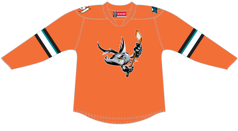 CCM Quicklite San Jose Barracuda Customized Premier Third Jersey