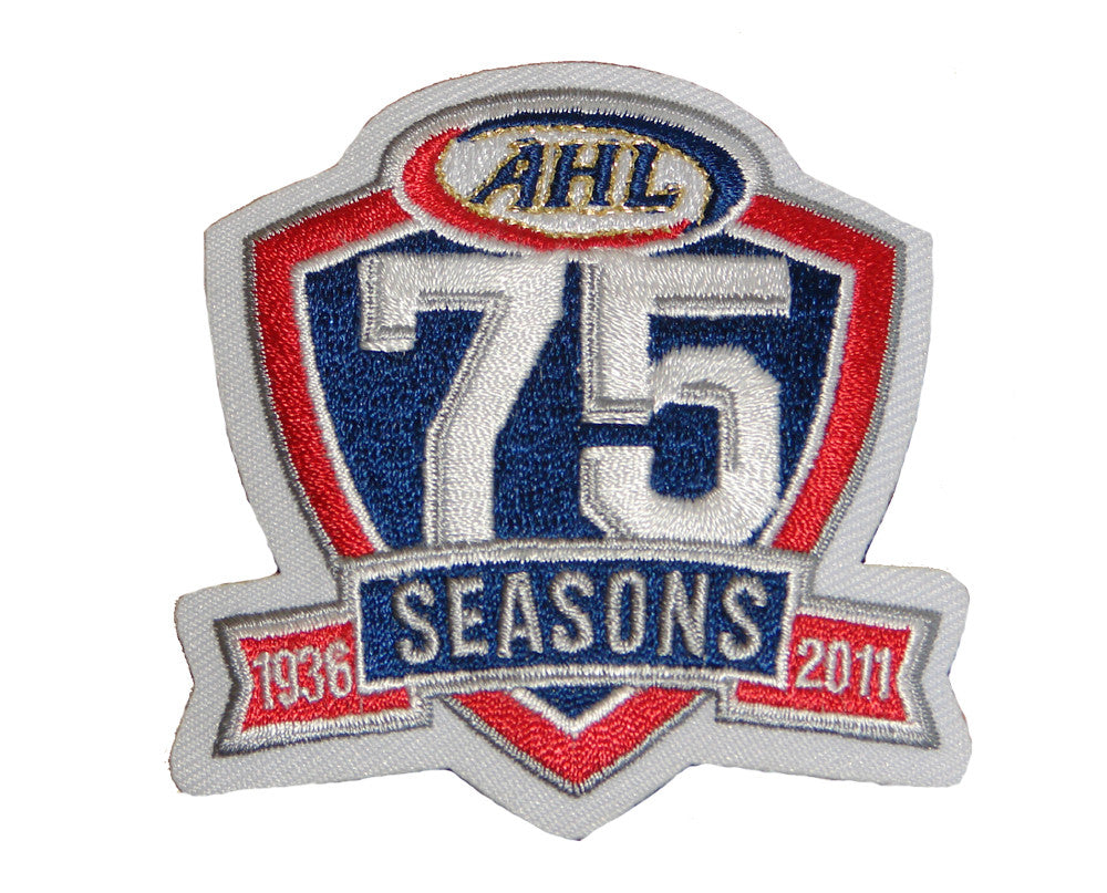 AHL 75th Anniversary Jersey Patch