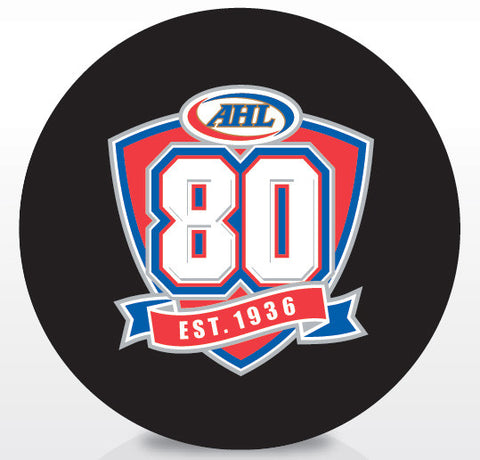 AHL 80th Anniversary Official Souvenir Puck
