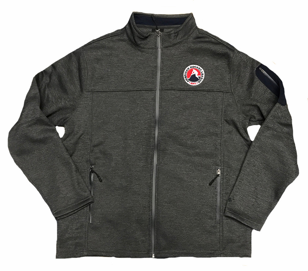 Colosseum AHL Anchor Full Zip Jacket (Gray)