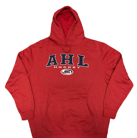 Colosseum American Hockey League Pullover Hoodie  (Red)