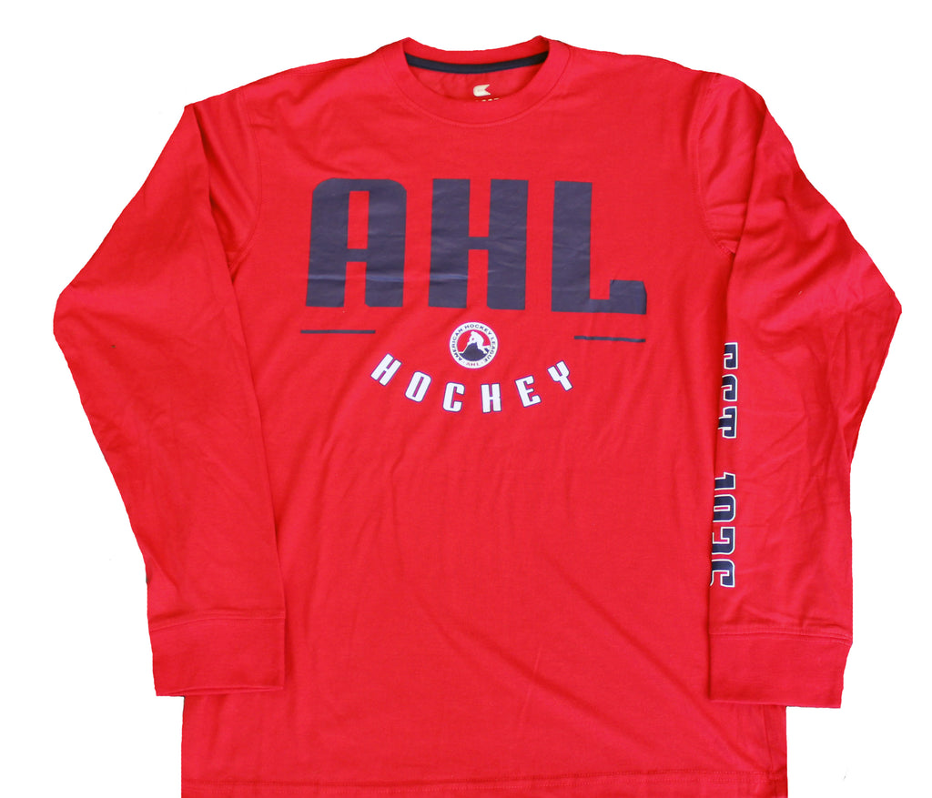 Colosseum American Hockey League Long Sleeve Established T-Shirt