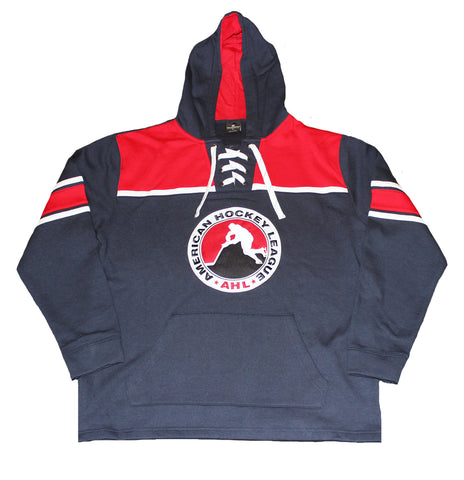 Colosseum American Hockey League Hockey Lace Pullover Hoodie
