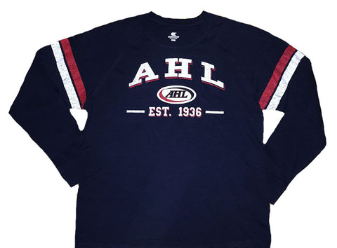 Colosseum AHL Huddle Up Long Sleeve T-Shirt (Navy)