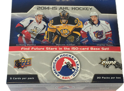 2014-15 Upper Deck AHL Hockey Hobby Box