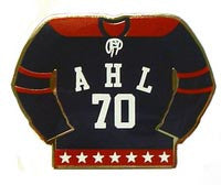 AHL 70th Anniversary Logo Lapel Pin