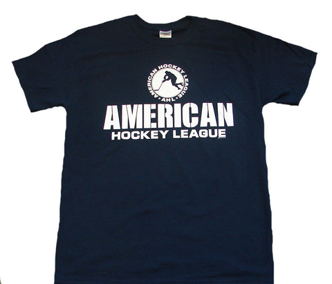 AHL Watts Adult Short Sleeve T-Shirt (Navy)