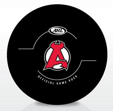 Albany Devils New Look Official Game Puck