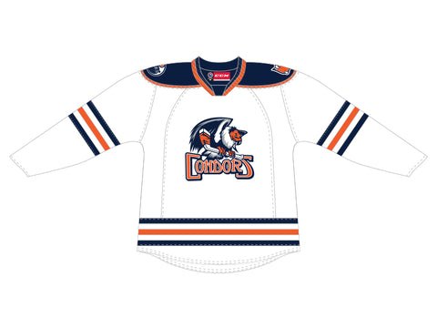 CCM Quicklite Bakersfield Condors Customized Premier White Jersey
