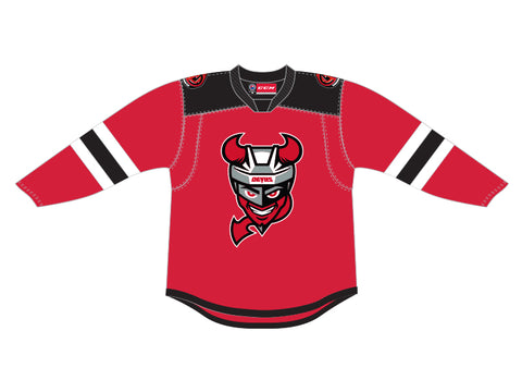 CCM Quicklite Binghamton Devils Customized Premier Red Jersey