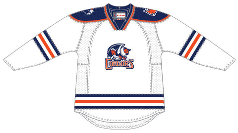 CCM Bakersfield Condors Customized Premier White Jersey