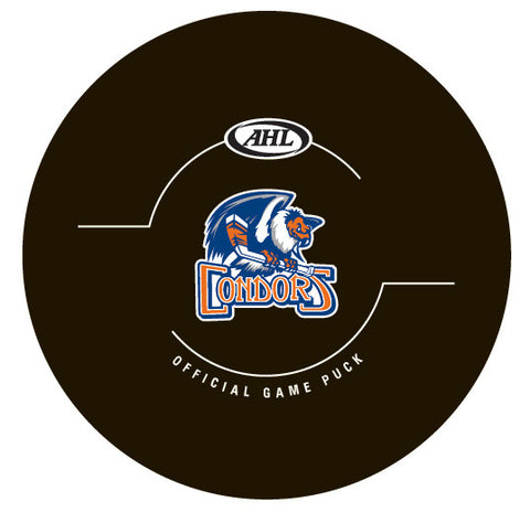 Bakersfield Condors Official Game Puck