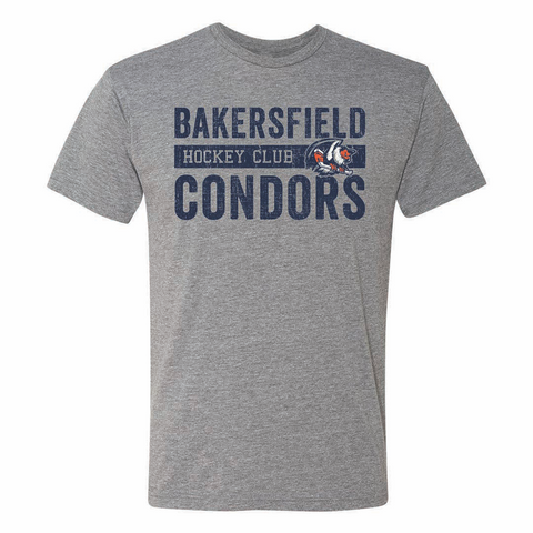 108 Stitches Bakersfield Condors Adult Hockey Club Short Sleeve T-Shirt