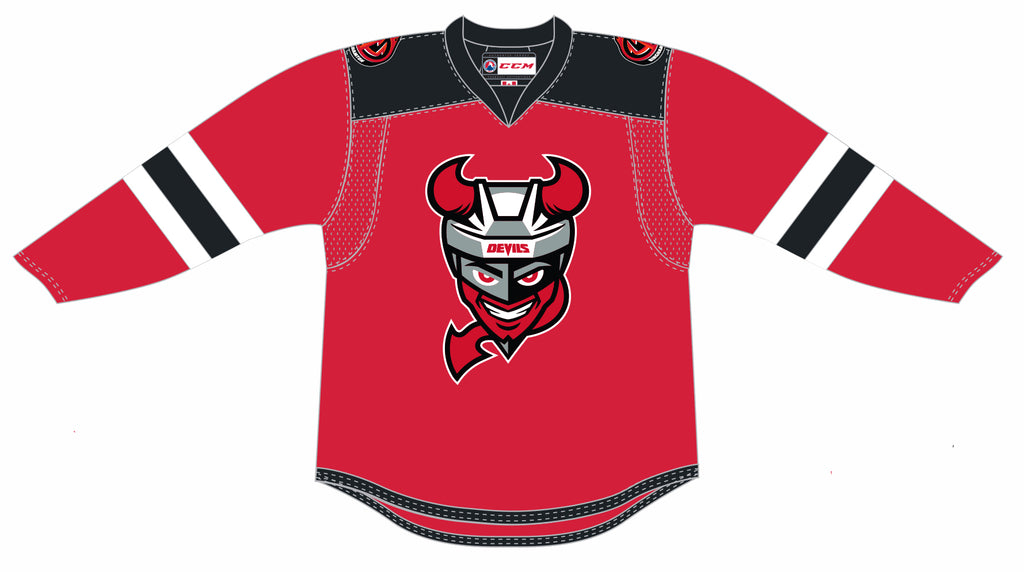 CCM Binghamton Devils Customized Premier Red Jersey