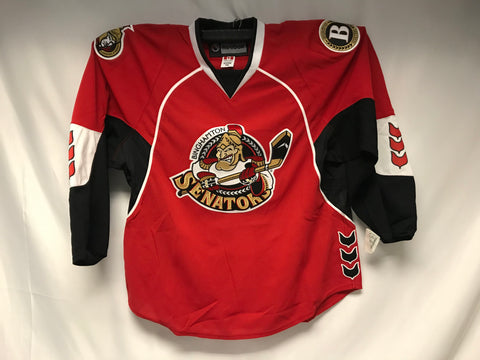 Reebok Binghamton Senators Authentic Jersey - Red