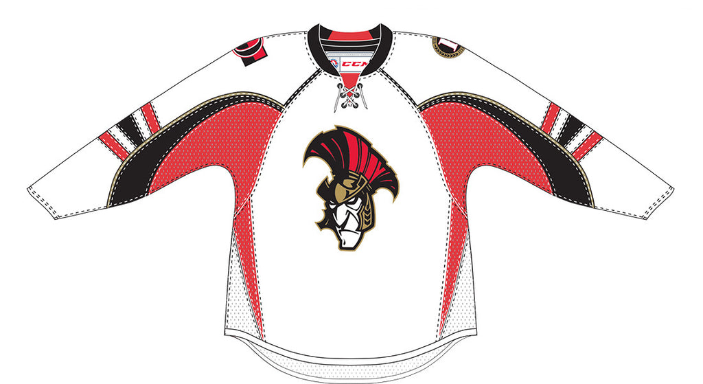 Reebok-CCM Binghamton Senators Customized Premier Home Jersey