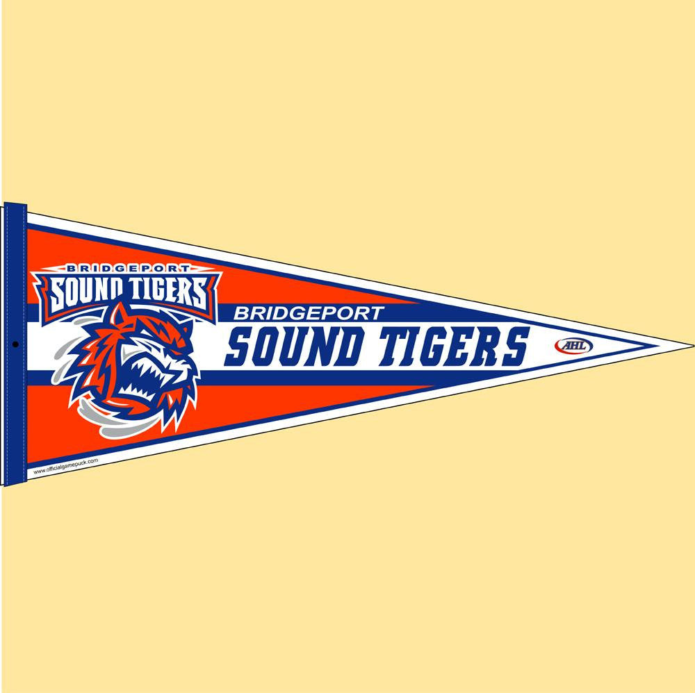 Bridgeport Sound Tigers Team Pennant