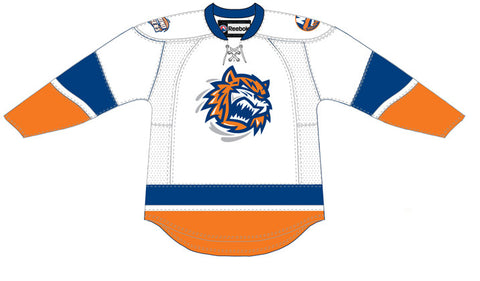 CCM Bridgeport Sound Tigers Customized Premier White Jersey