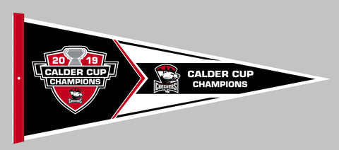 Charlotte Checkers 2019 Calder Cup Champions Pennant