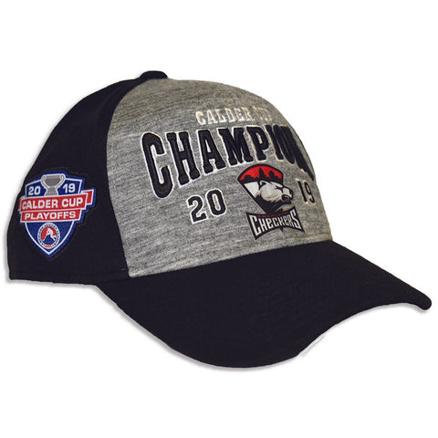 Charlotte Checkers CCM 2019 Calder Cup Champions Locker Room Hat