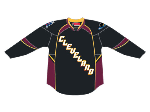 CCM Quicklite Cleveland Monsters Premier Black Jersey