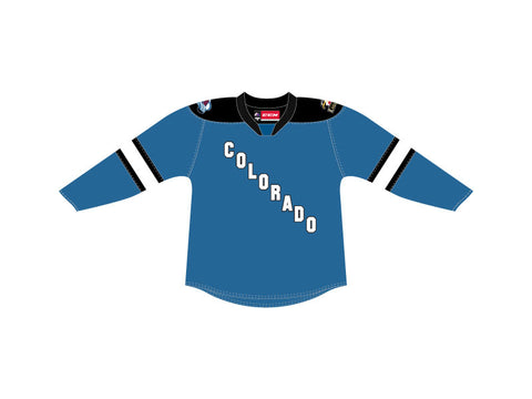 CCM Quicklite Colorado Eagles Premier Sky Blue Jersey