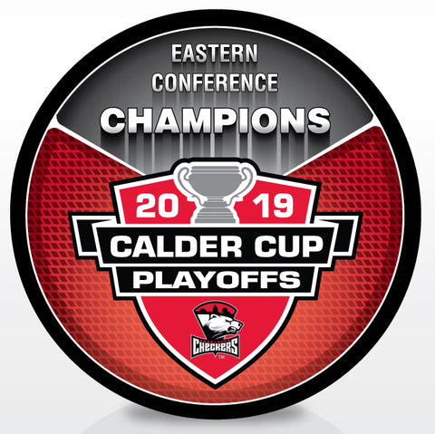 Charlotte Checkers 2019 Eastern Conference Champions Souvenir Puck
