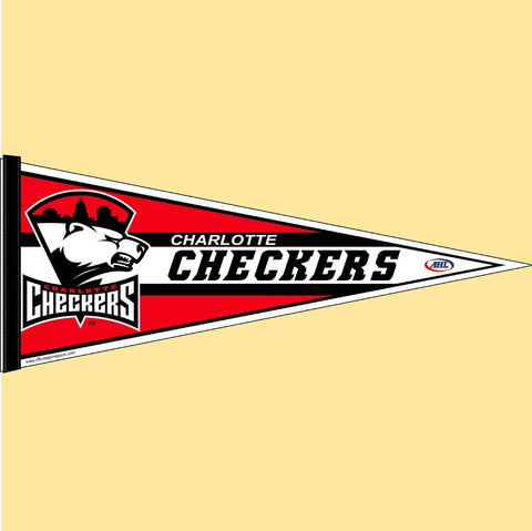 Charlotte Checkers Team Pennant